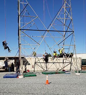 t Rope Access Training Facility at GME Supply Company in Missouri