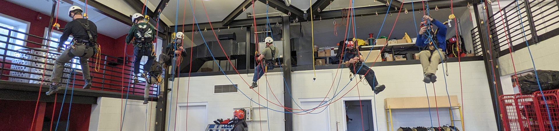 Master Point Rope Access Training Facility at Rocky Mountain Fire Station Colorado